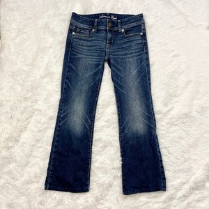 American Eagle Original Boot Cut Jeans Sz 4 Short